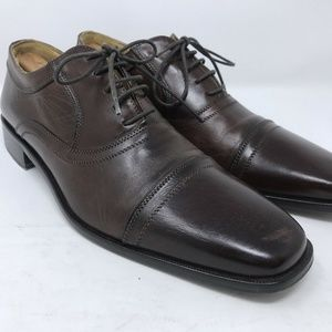 Johnston & Murphy Captoe Shoes Size 9.5 M Brown
